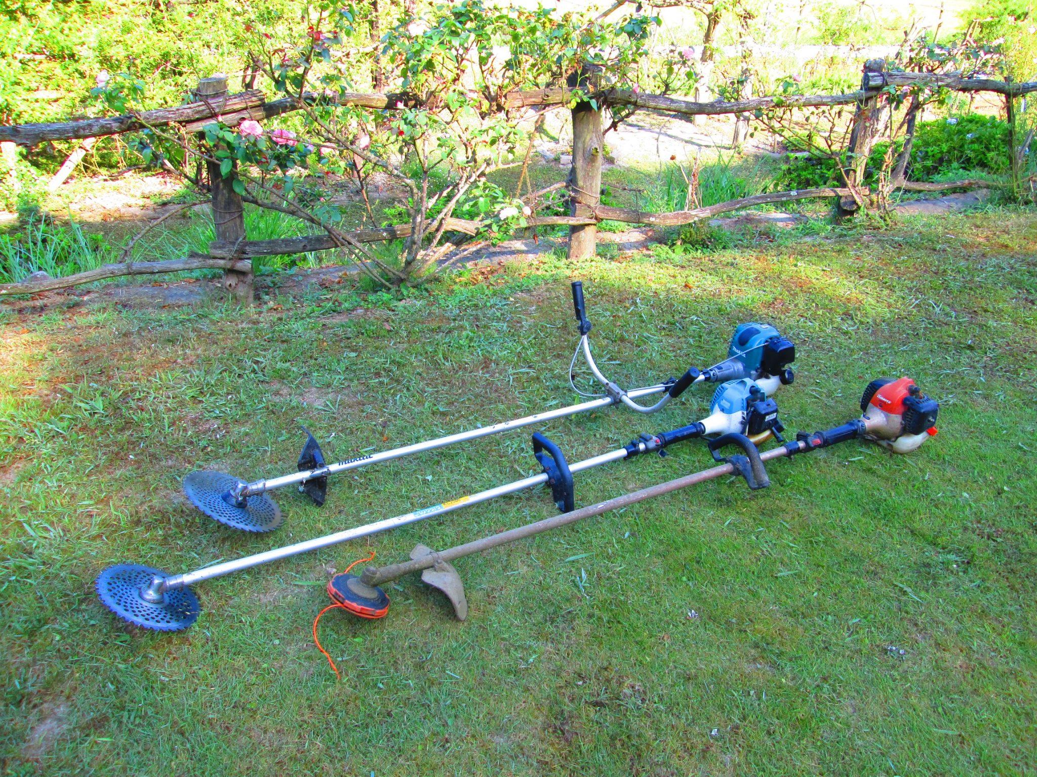 夏の草刈り2